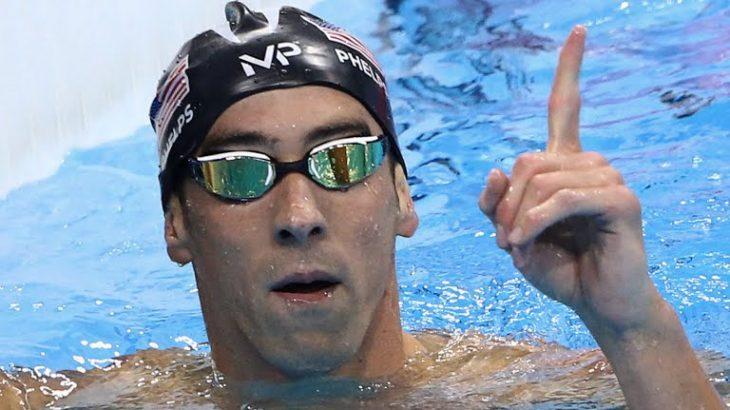 El tiburón de Baltimore ya suma 23 medallas de oro. Soberbio.